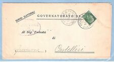 """Italy: Official pader to service, """"Electoral"""" ?, in 1934; fiscal 59 euros. IT02"""