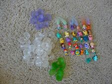 Squikkies x32  6 with Hair, 12 People, all the rest animals all in bubbles