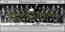 1937 MONTREAL CANADIENS TEAM PHOTO 8X10