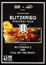 Blitzkrieg Strategy Pack (PC DVD, 2007)