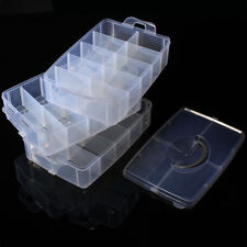3 Layer Plastic Bead Box Storage Container 30 Compartments beautiful White