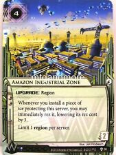 Android Netrunner LCG - 1x Amazon Industrial Zone #036 Cyber War Corp Draft Pack