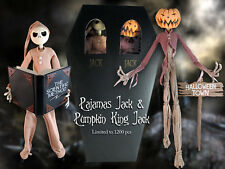 1999 Nightmare Before Christmas 2 pack Pajama Jack Pumpkin King Case fresh MIB