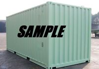 20ft New One Trip Shipping Container Storage Container in Baltimore, MD