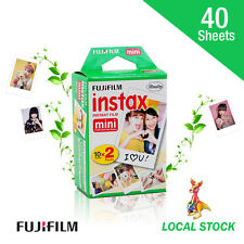 40 Sheets Fujifilm Instax Mini Film Fuji instant photos 7s 8 90 Polaroid 300