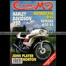 CHRONIQUES MOTO N°41/42-b MOTOBECANE D45 BSA B50 CROSS NORTON JOHN PLAYER 750