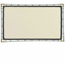 Carl's White Rear Projection Film, 16:9, 5x9 Hanging Projector Screen Kit