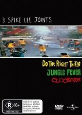Do the Right Thing / Jungle Fever / Clockers DVD Spike Lee R18+