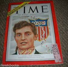 TIME MAGAZINE Andrea Mead Lawrence  Jan. 21, 1952