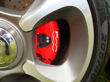 FIAT 500 New Generation Brake Caliper Decals Stickers Abarth Twin Air ALL OPTION