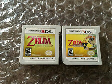 The Legend of Zelda: Ocarina of Time 3D + A Link Between Worlds (3DS LOT) Carts