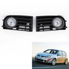 VW GOLF 5 MK5 RABBIT 2003-2009 2008 07 06 05 2004 FOG LIGHTS LAMPS GRILLE CA00