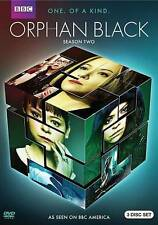Orphan Black: Season 2 (DVD, 2014, 3-Disc) MINT  w/ slipcover  BEWARE OF COPIES