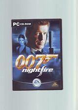 JAMES BOND 007 NIGHTFIRE - PC GAME - FAST POST - COMPLETE WITH BOTH MANUALS