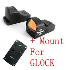 Ade Advanced Optics Compact MINI Red Dot Reflex Sight Pistol for GLOCK pistol