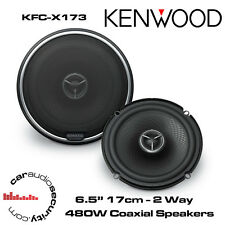 "Kenwood KFC-X173 - 17cm 6.5"" 2-Way Car Door Coaxial Speakers 480W Total Power"