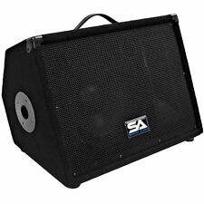 Seismic Audio NEW 10 Inch FLOOR MONITORS Studio Speakers PA/DJ Band