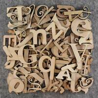 Over 75 Small Wooden Letters Craft Shape 3mm Plywood 2-5cm Size Mixed Fonts