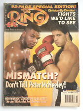 The Ring Magazine Fights we'd like to See Mike Tyson vs. Evander Holyfield 1996