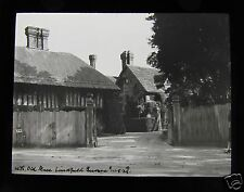 Glass Magic Lantern Slide OLD MILL LINDFIELD SUSSEX DATED AUGUST 1929