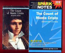Count of Monte Cristo by Alexandre Dumas & SparkNotes study guide -Free Ship!