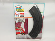 "AURORA MODEL MOTORING 9"" 1/4 CORNER CROSSOVERS ~ 2 PC W/HRDW ~ NEW ON CARD RARE"