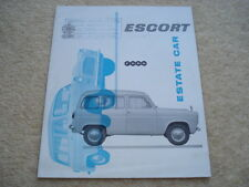 C1959 FORD ESCORT ESTATE CAR BROCHURE