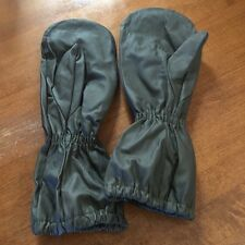 Military Surplus Rain Gloves, for wet weather protection, genuine army surplus