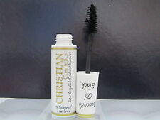 Christian Super Long Lash Treatment Waterproof Mascara Avocado Oil Black . 43oz