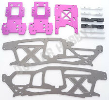 New HPI Savage X SS 4.6 TVP CHASSIS & PLATE(Engine Bulkhead Twin Vertical bumper