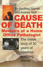 Cause of Death: Memoirs of a Home Office Pathologist,ACCEPTABLE Book