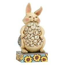 Jim Shore Heartwood Creek Small Lazy Bunny Figurine New 4047079