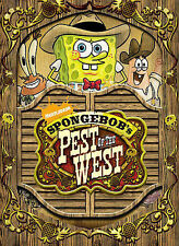SPONGEBOB'S PEST OF THE WEST DVD   NICKELODEON    BRAND NEW!!! FACTORY SEALED!!!