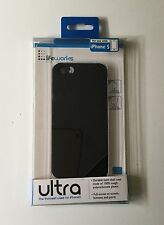 NEW LIFEWORKS Ultra Thinnest Protective Case iPhone 5 5S Black Cellphone Cover