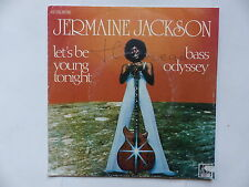 JERMAINE JACKSON Let's be young tonight Bass odyssey 2C006 98166