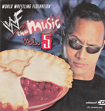 WWF:World Wrestling Federation:Vol-5-2001-Original Soundtrack-14 Track-CD