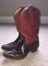 Tony Lama Womens 100% Vaquero Moka Sienna Cowboy Boots VF3021 size 8