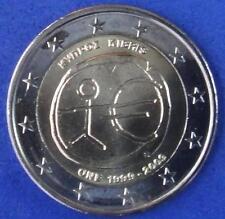 """ZYPERN / CYPRUS  -  2 EUROS Gedenkmünzen 2009   """" 10 Jahrestag WWU """""""