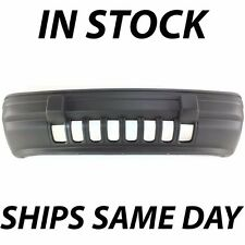 New Textured - Gray Front Bumper Cover For 1993 1994 1995 Jeep Grand Cherokee