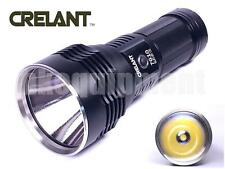 CRELANT 7G10 Cree MT-G2 Cool White LED 18650 Long Distance Throw LED Flashlight