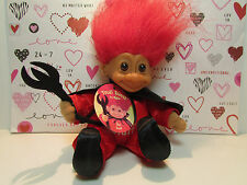 """HOT STUFF - 6 """" Russ Soft Troll Doll - NEW WITH HANG TAG"""
