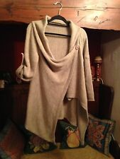 Worn Once Made In Italy Woolblend Cardigan M 42""