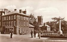 Park Street War Memorial Woburn Nr Milton Keynes Policeman unused RP pc Ref A433