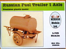 Mirror Models 1:35 Russian Fuel Trailer Single Axle Model Kit