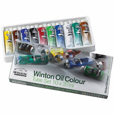 Winsor & Newton Winton Oil Colour - 10 x 37ml Tube Set