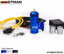 EPMAN UNIVERSAL ELECTRICAL TURBO DIESEL DUMP BLOW OFF VALVE KIT BLUE