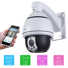 960P 1.3MP HD IP 4X Zoom speed Network Home and business Security Camera