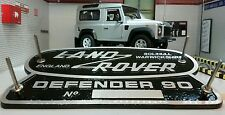 Land Rover Defender 90 Heritage Ltd Edition Cast Aluminium Grill OEM Tub Badge