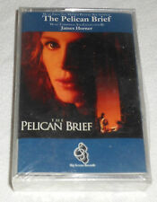 NWT Pelican Brief Soundtrack Music James Horner Film (Audio Cassette, 1994) NEW