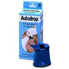 AutoDrop - Eye drop guide - eye drop aid - UK pharmacy stock